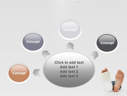 Foot Plaster PowerPoint Template Slide 7