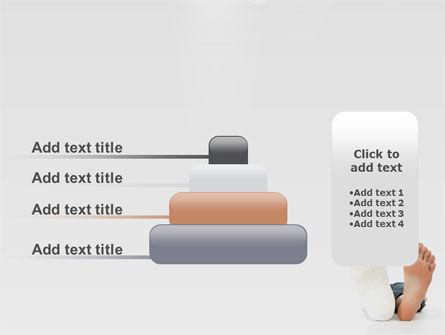 Foot Plaster PowerPoint Template Slide 8