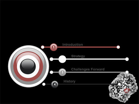 white blood cell powerpoint template, backgrounds | 07083, Modern powerpoint
