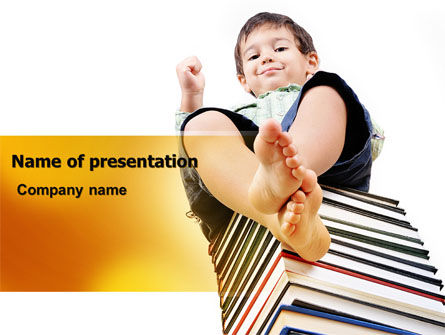 Knowledge Base PowerPoint Template, 07086, Education & Training — PoweredTemplate.com