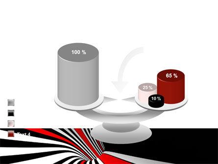 Abstract Vortex PowerPoint Template Slide 10