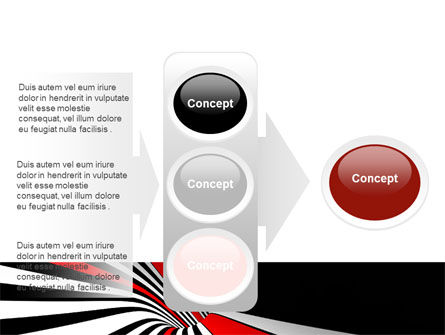 Abstract Vortex PowerPoint Template Slide 11