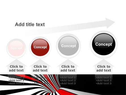 Abstract Vortex PowerPoint Template Slide 13