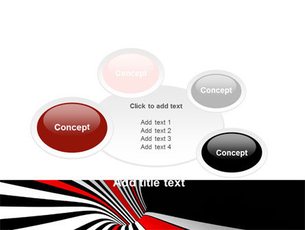 Abstract Vortex PowerPoint Template Slide 16