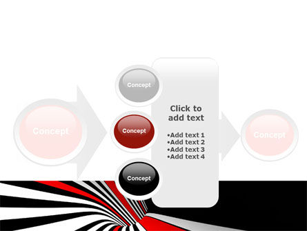 Abstract Vortex PowerPoint Template Slide 17