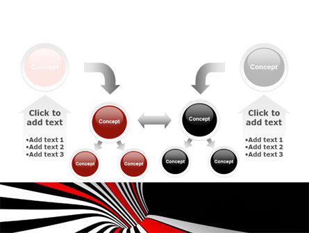 Abstract Vortex PowerPoint Template Slide 19