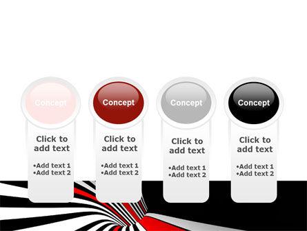 Abstract Vortex PowerPoint Template Slide 5
