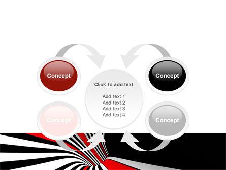 Abstract Vortex PowerPoint Template Slide 6