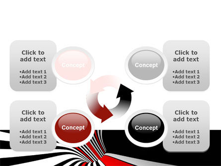 Abstract Vortex PowerPoint Template Slide 9