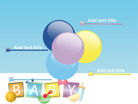 Baby Theme PowerPoint Template Slide 10