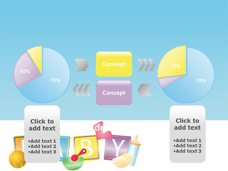 Baby Theme PowerPoint Template Slide 11