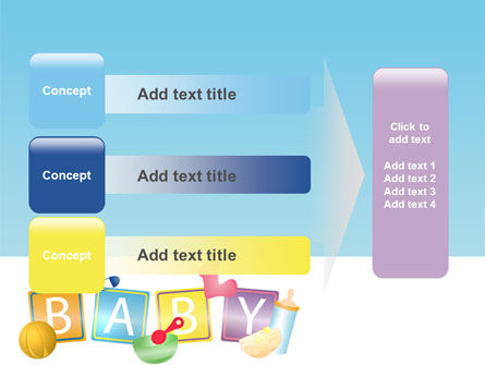 Baby Theme PowerPoint Template Slide 12