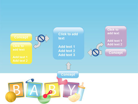 Baby Theme PowerPoint Template Slide 13
