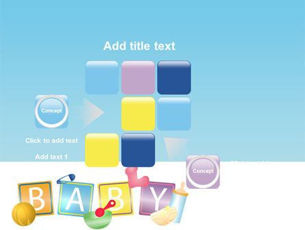 Baby Theme PowerPoint Template Slide 16
