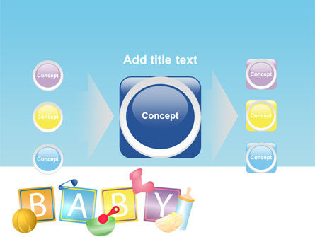 Baby Theme PowerPoint Template Slide 17