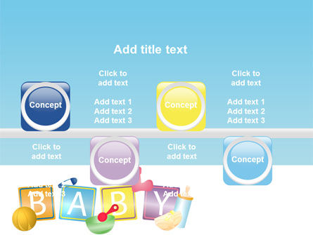 Baby Theme PowerPoint Template Slide 19