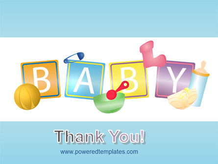 Baby Theme PowerPoint Template Slide 20