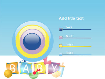 Baby Theme PowerPoint Template Slide 9