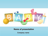 Education & Training: Baby Theme PowerPoint Template #07094