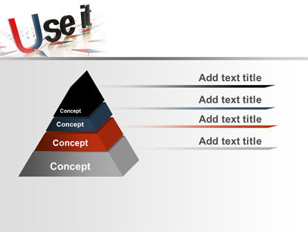 Use It PowerPoint Template, Slide 4, 07096, Consulting — PoweredTemplate.com