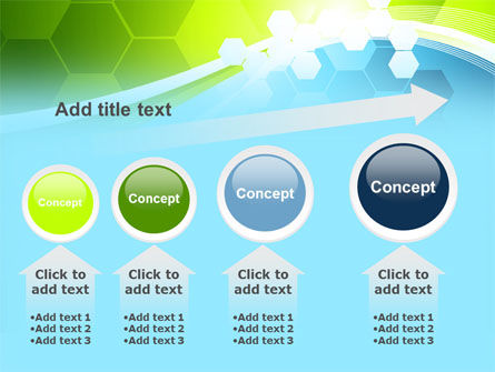 Yellow and Green Theme PowerPoint Template Slide 13