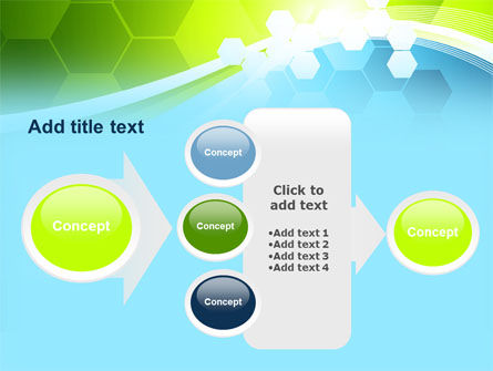 Yellow and Green Theme PowerPoint Template Slide 17