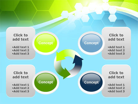 Yellow and Green Theme PowerPoint Template Slide 9