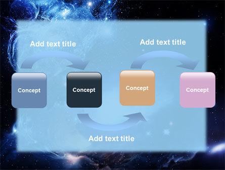 Violet Nebula PowerPoint Template, Slide 4, 07105, Nature & Environment — PoweredTemplate.com