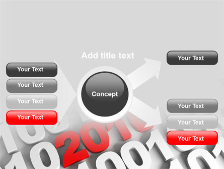 2010 PowerPoint Template Slide 14
