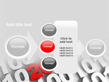 2010 PowerPoint Template Slide 17