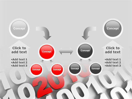 2010 PowerPoint Template Slide 19
