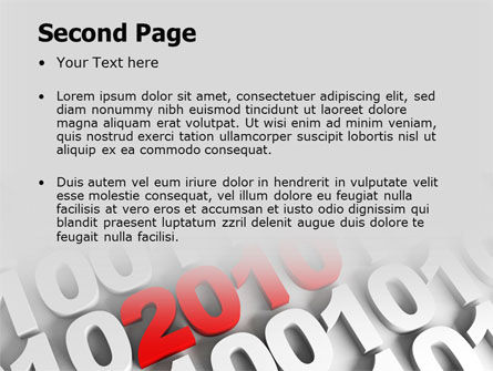 2010 PowerPoint Template, Slide 2, 07106, Holiday/Special Occasion — PoweredTemplate.com
