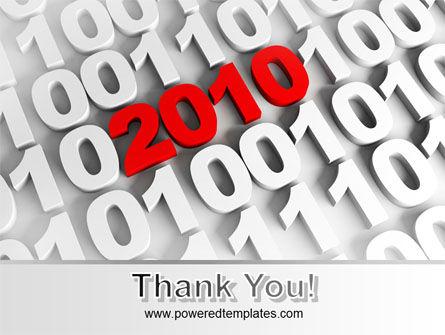 2010 PowerPoint Template Slide 20