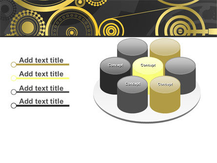 Ticking Mechanisms PowerPoint Template Slide 12