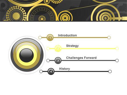Ticking Mechanisms PowerPoint Template, Slide 3, 07108, Consulting — PoweredTemplate.com