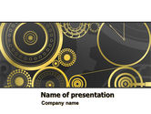 Consulting: Ticking Mechanisms PowerPoint Template #07108