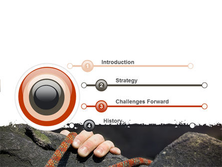 Climber PowerPoint Template, Slide 3, 07110, Business Concepts — PoweredTemplate.com