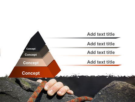 Climber PowerPoint Template, Slide 4, 07110, Business Concepts — PoweredTemplate.com
