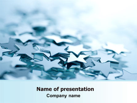Decoration Stars PowerPoint Template