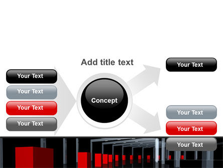 3D Effect PowerPoint Template Slide 14