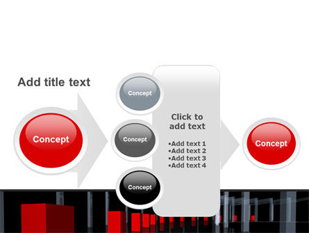 3D Effect PowerPoint Template Slide 17