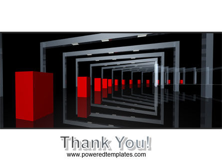 3D Effect PowerPoint Template Slide 20