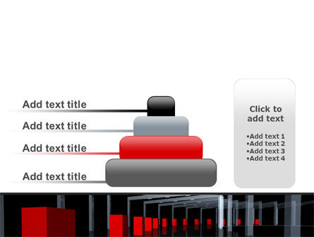 3D Effect PowerPoint Template Slide 8