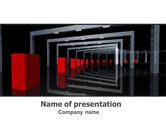 Construction: 3D Effect PowerPoint Template #07115