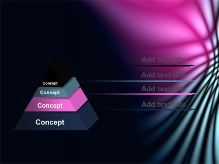 Fuchsia Dark Theme PowerPoint Template Slide 12