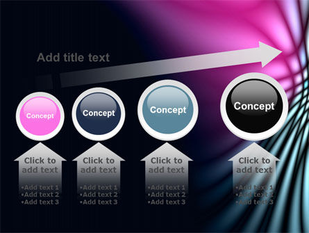 Fuchsia Dark Theme PowerPoint Template Slide 13