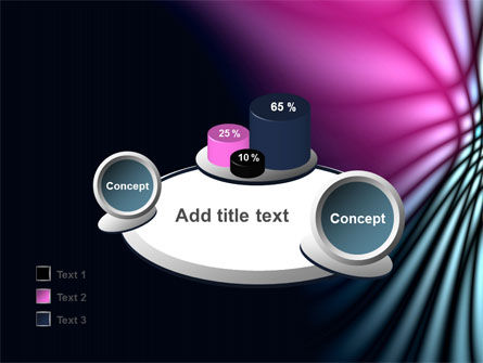Fuchsia Dark Theme PowerPoint Template Slide 16