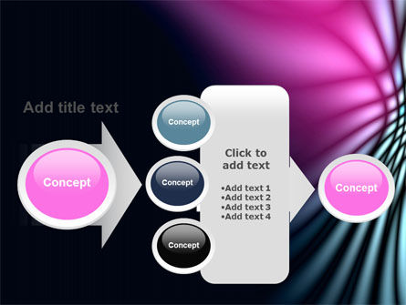 Fuchsia Dark Theme PowerPoint Template Slide 17
