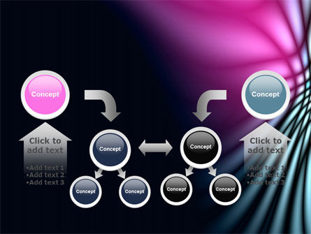 Fuchsia Dark Theme PowerPoint Template Slide 19
