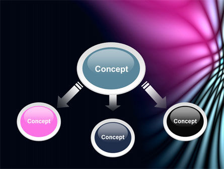 Fuchsia Dark Theme PowerPoint Template Slide 4
